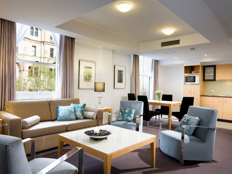 Heritage One Bedroom Boutique Apartment Hotel Melbourne